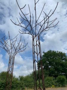 Structure Déco tol d'un arbre géant